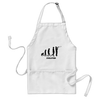 funny trombone player standard apron