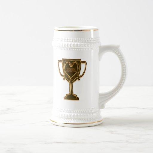 Funny Trophy Husband Beer Stein Coffee Mugs
