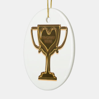 Funny Trophy Wife Rear View Ornament