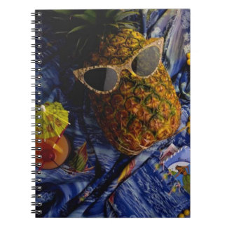 Funny Tropical Cool Pineapple Notebook