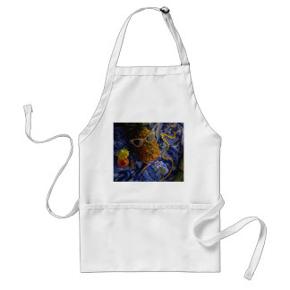 Funny Tropical Cool Pineapple Standard Apron