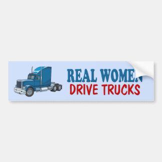Funny Trucker Bumper Sticker