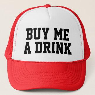 """Funny Trucker Hat: """"BUY ME A DRINK"""" Trucker Hat"""