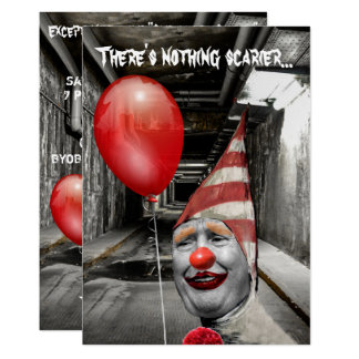 Funny Trump As Trumpwise The Clown Halloween Card