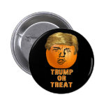 Funny Trump Halloween Trumpkin Pumpkin 6 Cm Round Badge