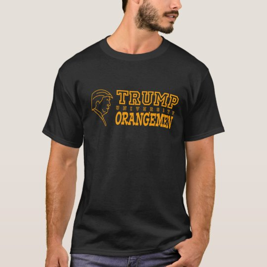 Funny Trump University Orangemen Athletic Teams T-Shirt