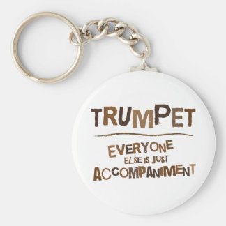 Funny Trumpet Gift Key Ring