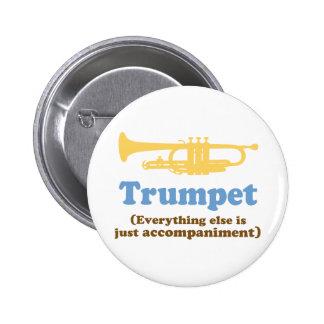 Funny Trumpet Joke 6 Cm Round Badge
