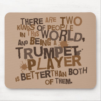 Funny Trumpet Joke Computer Gift Mouse Pad