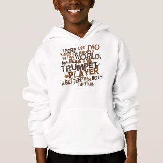 Funny Trumpet Music Joke Kids Tee Shirt Gift