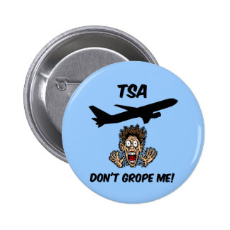 Funny TSA Button