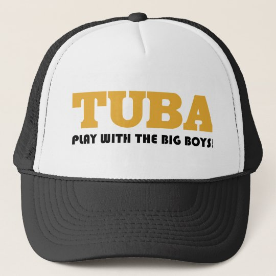 Funny Tuba Marching Band Cap
