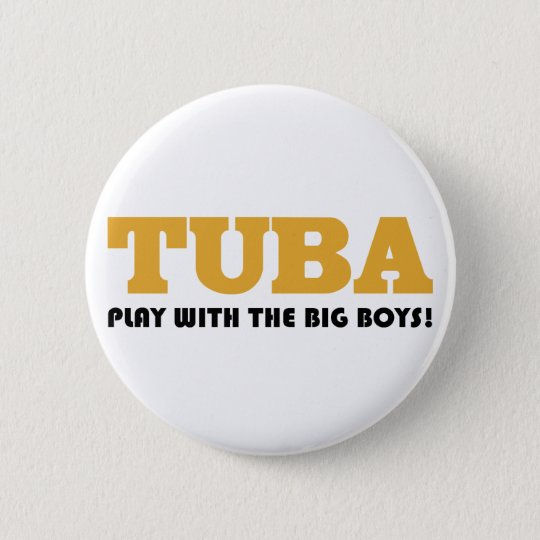 Funny Tuba Quote Button