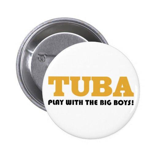 Funny Tuba Quote Button