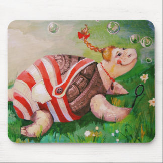 FUNNY TURTLE MOUSE MAT