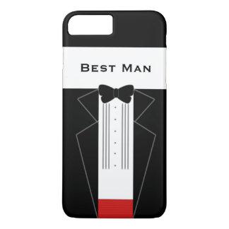 Funny Tuxedo Best Man Wedding iPhone 7 Plus Case