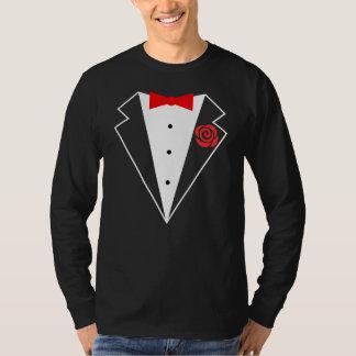 Funny Tuxedo [red bow] Tee Shirts