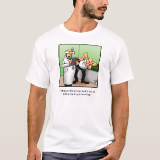 Funny Twerking Humor Tee Shirt