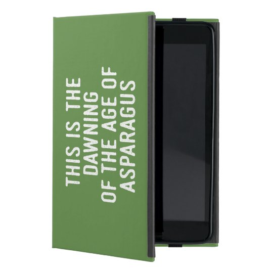 Funny typographic misheard song lyrics case for iPad