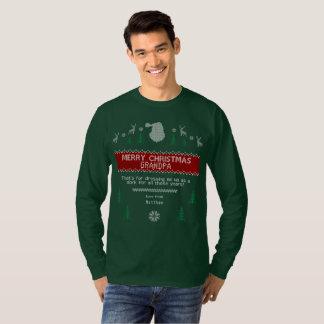 Funny Ugly Christmas Sweater: Kid's Revenge Hoodie