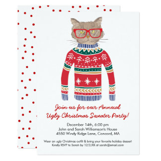 Ugly Christmas Sweater Party Funny Funny Christmas Party ...