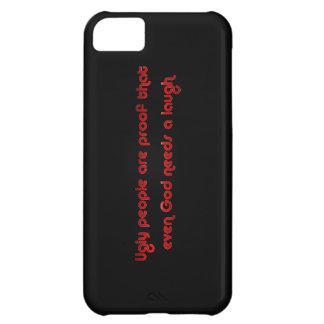 Funny Ugly People Joke Humor iPhone 5C Case