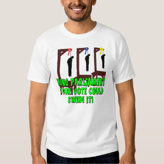 Funny UK election T Shirt