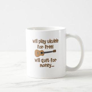 Funny Ukulele Coffee Mug