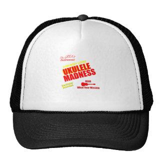 Funny Ukulele Madness Mesh Hats