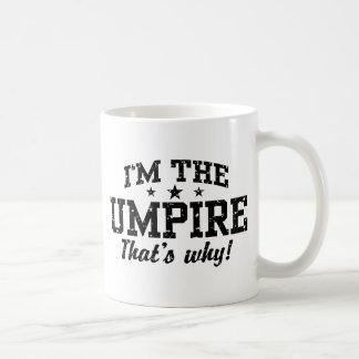 Funny Umpire Basic White Mug