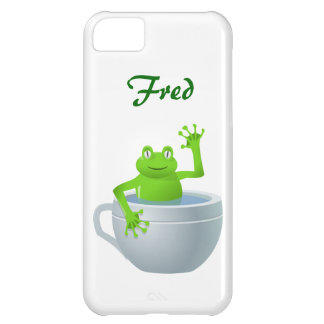 Funny Unexpected Frog in My Tea Cup iPhone 5C Case