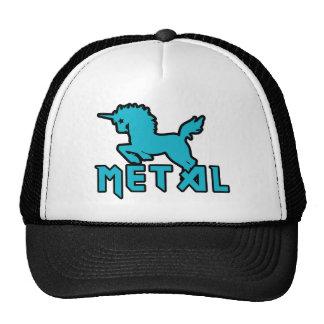 Funny Unicorns are Metal Cap