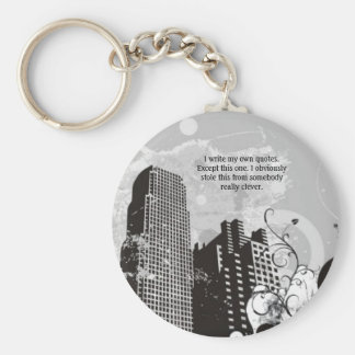 Funny Urban Keychain