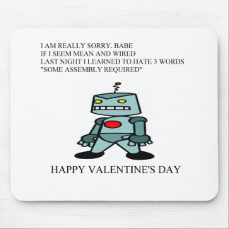 funny valentine s day poem mouse mats