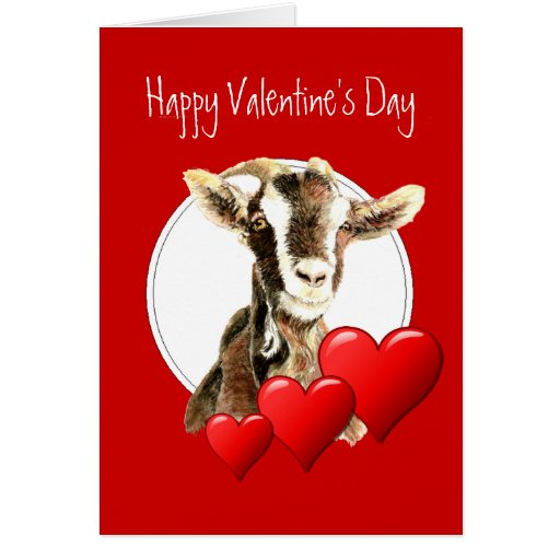 Funny Valentine to Old Goat, humor Card