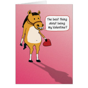 horse valentines cards invitations. Black Bedroom Furniture Sets. Home Design Ideas