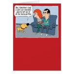 Funny Valentine's Day Card: Jealous Dog