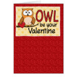 Funny Valentine's Day Card: Owl Love You