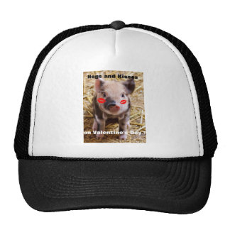 Funny Valentines Day Funny Piglet Cap