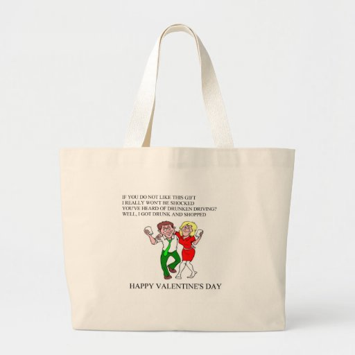 funny valentine's day poem canvas bags