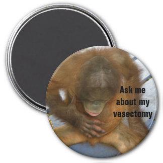 Funny Vasectomy 7.5 Cm Round Magnet
