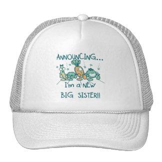 Funny Veggies New Big Sister Hat