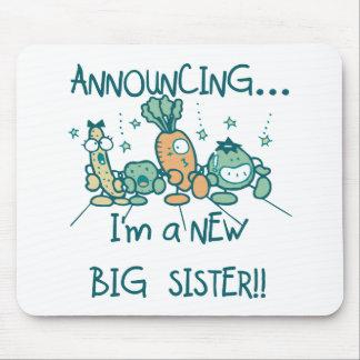 Funny Veggies New Big Sister Mousepad