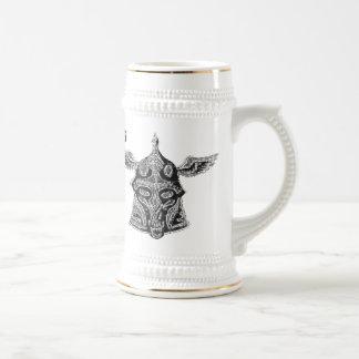 Funny viking beer mug