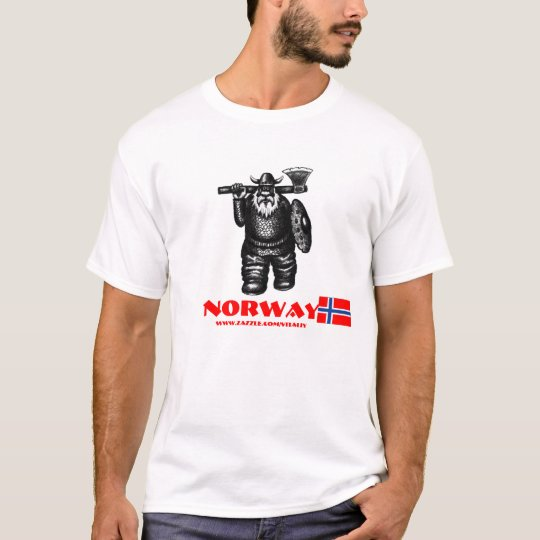 Funny viking Norway t-shirt design