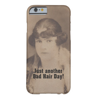 Funny Vintage 1920 Bad Hair Day Barely There iPhone 6 Case