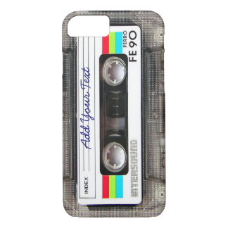 Funny Vintage 80s Retro Music Cassette Tape iPhone 7 Case