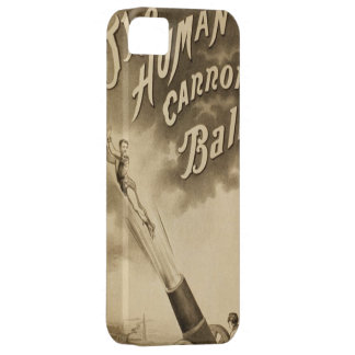 Funny Vintage Circus Poster iphone cases Barely There iPhone 5 Case