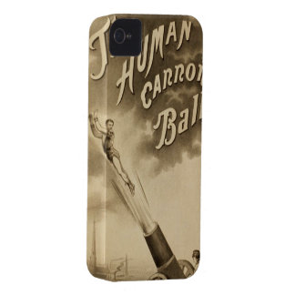 Funny Vintage Circus Poster iphone cases iPhone 4 Cover