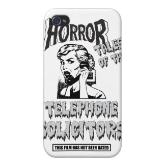 Funny Vintage Horror Movie Case For iPhone 4